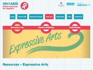 Website - Expressive Arts